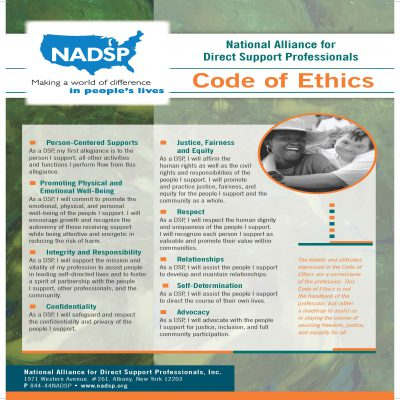 Code of Ethics 11x17 Poster 2016 Final Print