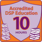 NADSP E-Badge Academy Accredited Education for 10hrs