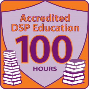 NADSP E-Badge Academy Accredited Education for 100hrs