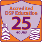 NADSP E-Badge Academy Accredited Education for 25hrs