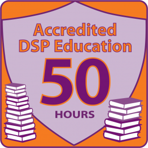 NADSP E-Badge Academy Accredited Education for 50hrs