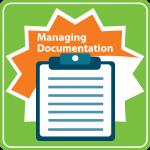 NADSP E-Badge Managing Documentation Icon