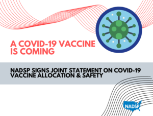 NADSP Signs Joint Statement with AADMD on COVID-19 Vaccine Allocation