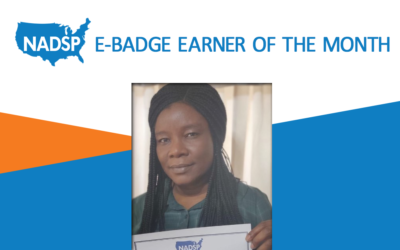NADSP E-Badge Earner of the Month: Alaba Owolabi