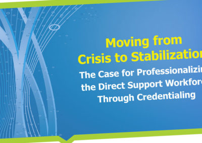 Moving From Crisis To Stabilization