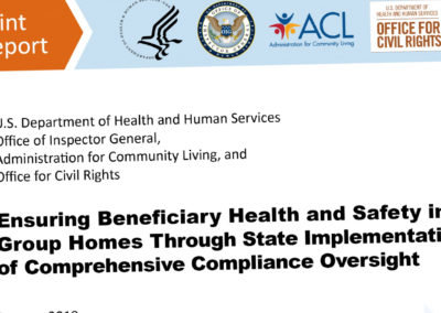 Ensuring Beneficiary Health and Safety