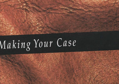 'Making Your Case' Advocacy Course