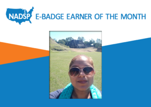 NADSP E-Badge Earner of the Month: Jacqueline Cerna