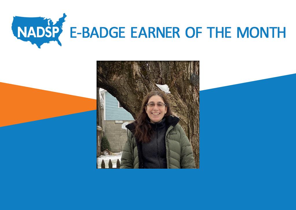 NADSP E-Badge Earner of the Month: Giselda Bracco