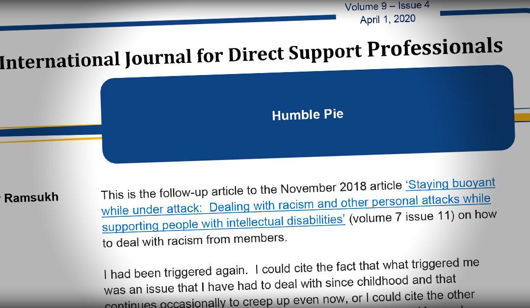 International Journal: Humble Pie